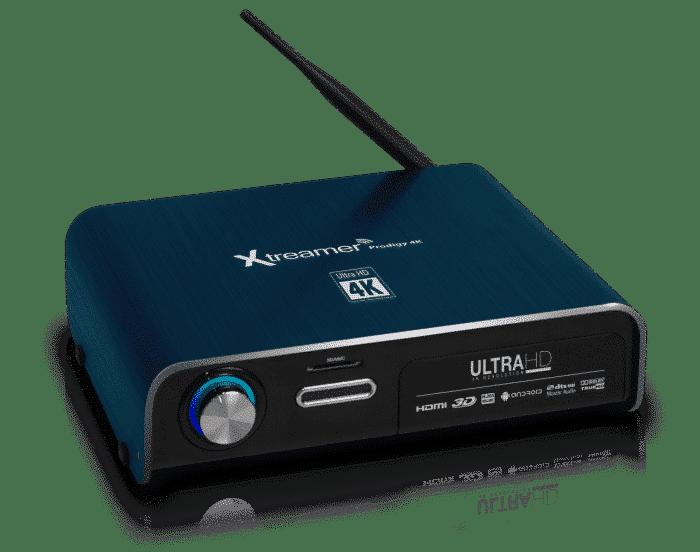 Xtreamer Prodigy 4K Front