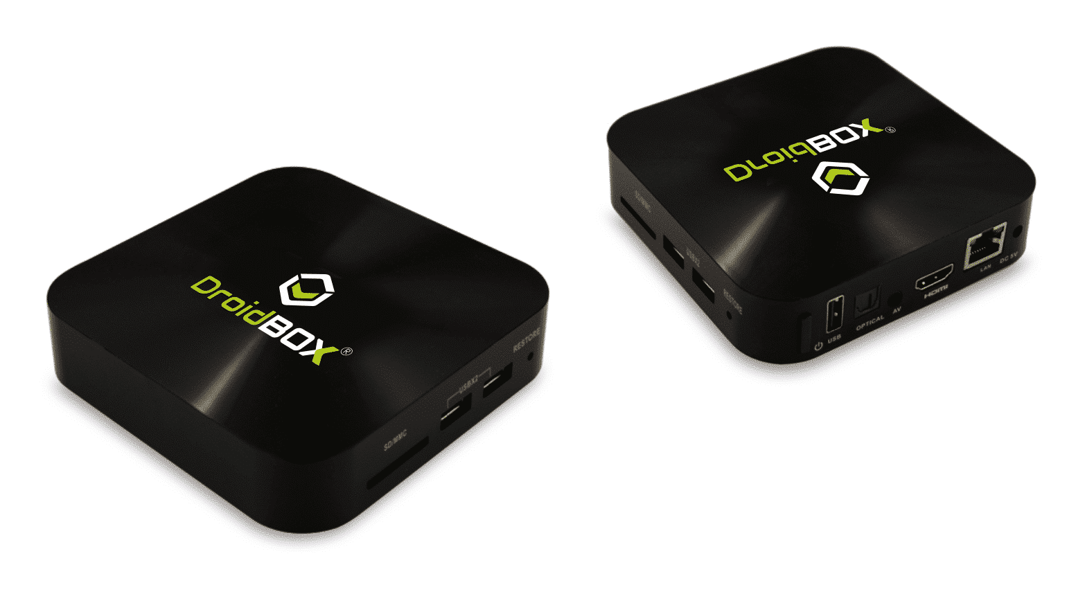 DroidBOX K5 (Refurbished) front and rear view