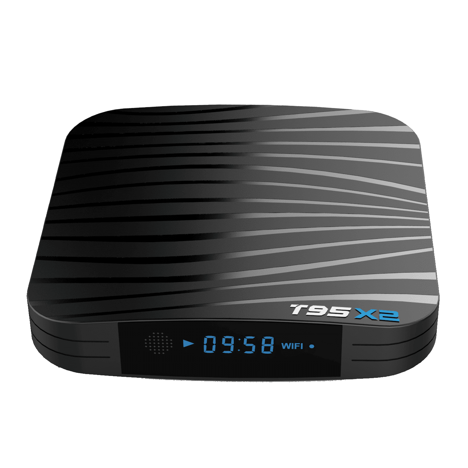 T95X2 Amlogic S905X2 Android 8.1 Oreo Smart TV BOX - Front Top