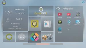 DroiX Switch Homescreen Switch To LibreELEC Icon