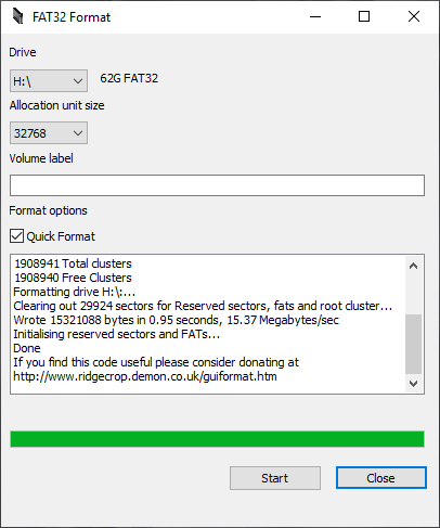 How to Format Micro SD Card to FAT32
