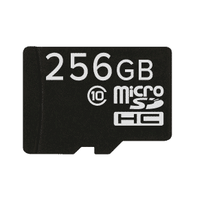 256GB MicroSD/TF Card for Smartphones,Tablets and Laptops