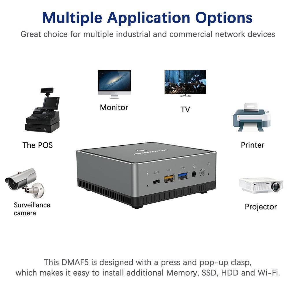 MinisForum UM250 - Showing applications
