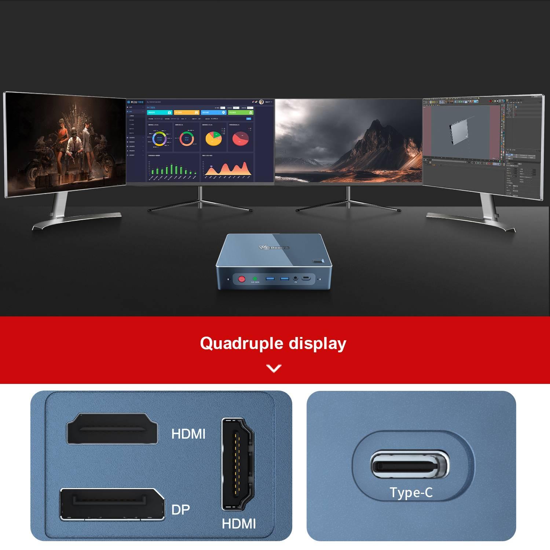 Beelink GT-R Quad Display Output showcase