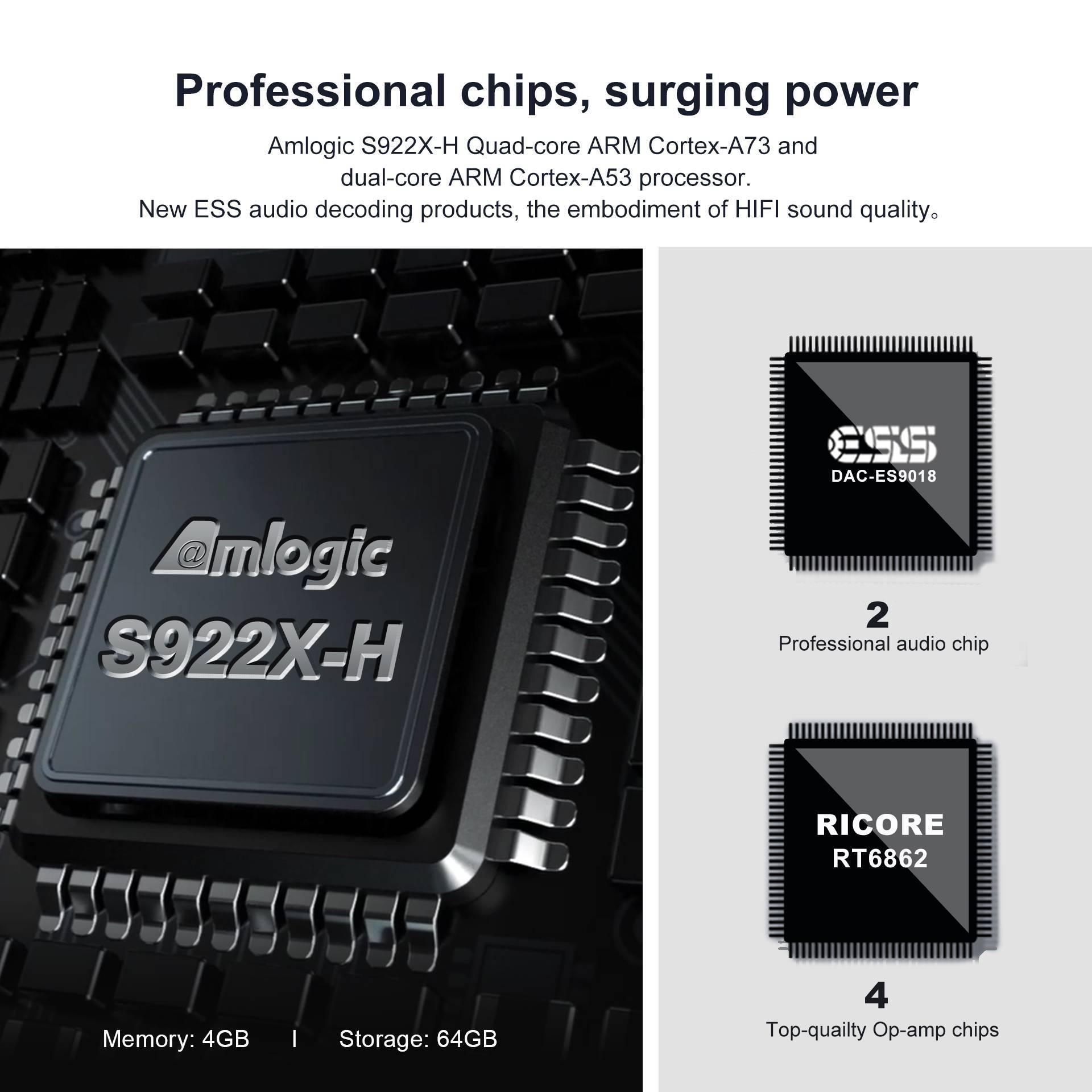 Beelink GS-King X - Showing Processor Information
