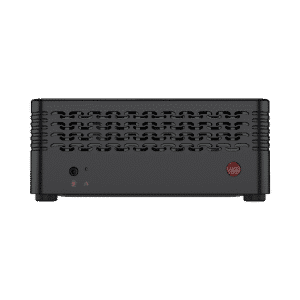 MINISFORUM H31 Mini PC - Shown from front, direct angle
