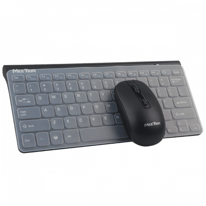 Meetion MT-4000 Mini Keyboard with Mouse - Shown together