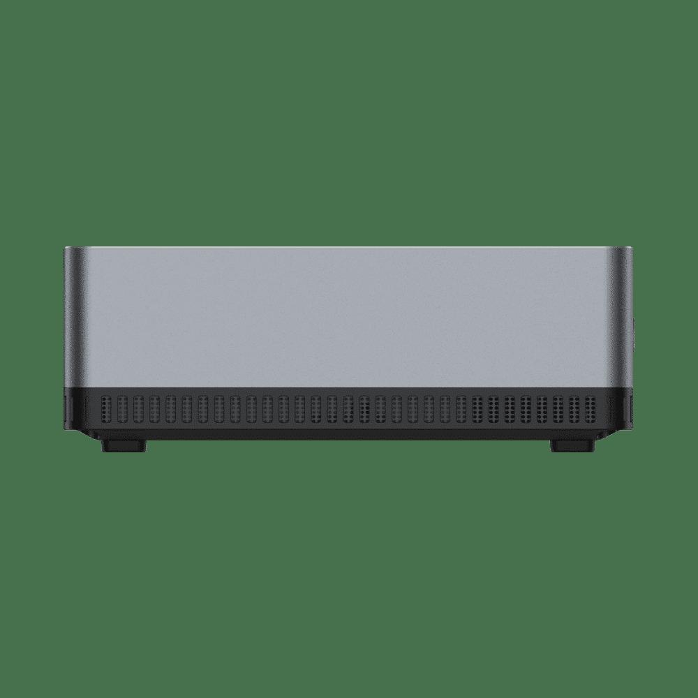MINISFORUM DMAF5 AMD Mini PC with Ryzen 5 - Shown from the side