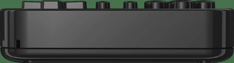 ANBERNIC RG280V Silver Retro Gaming Handheld - Showing Bottom