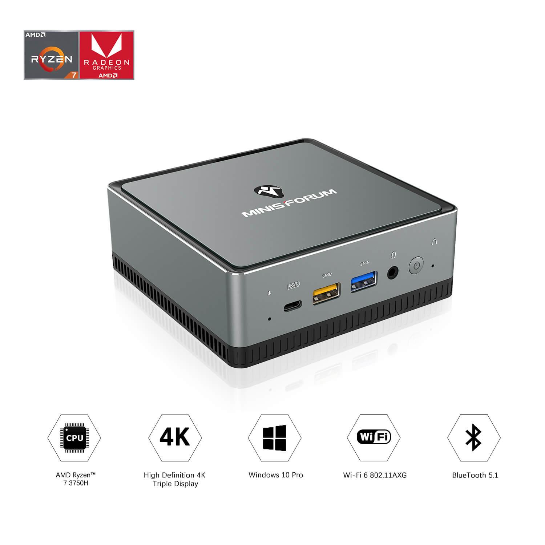MinisForum EliteMini UM700 Showing Features
