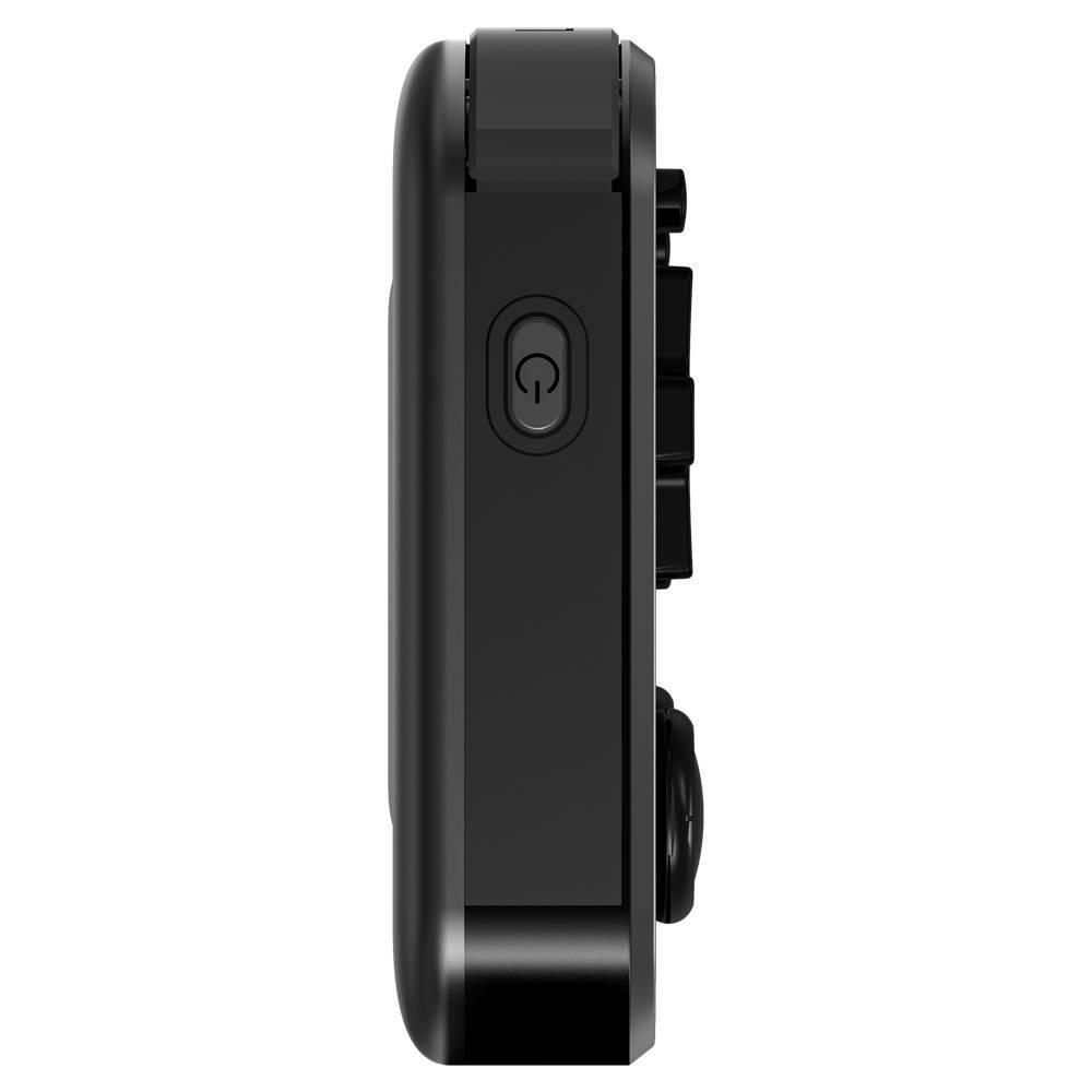 ANBERNIC RG351M Matte Black - Showing power button