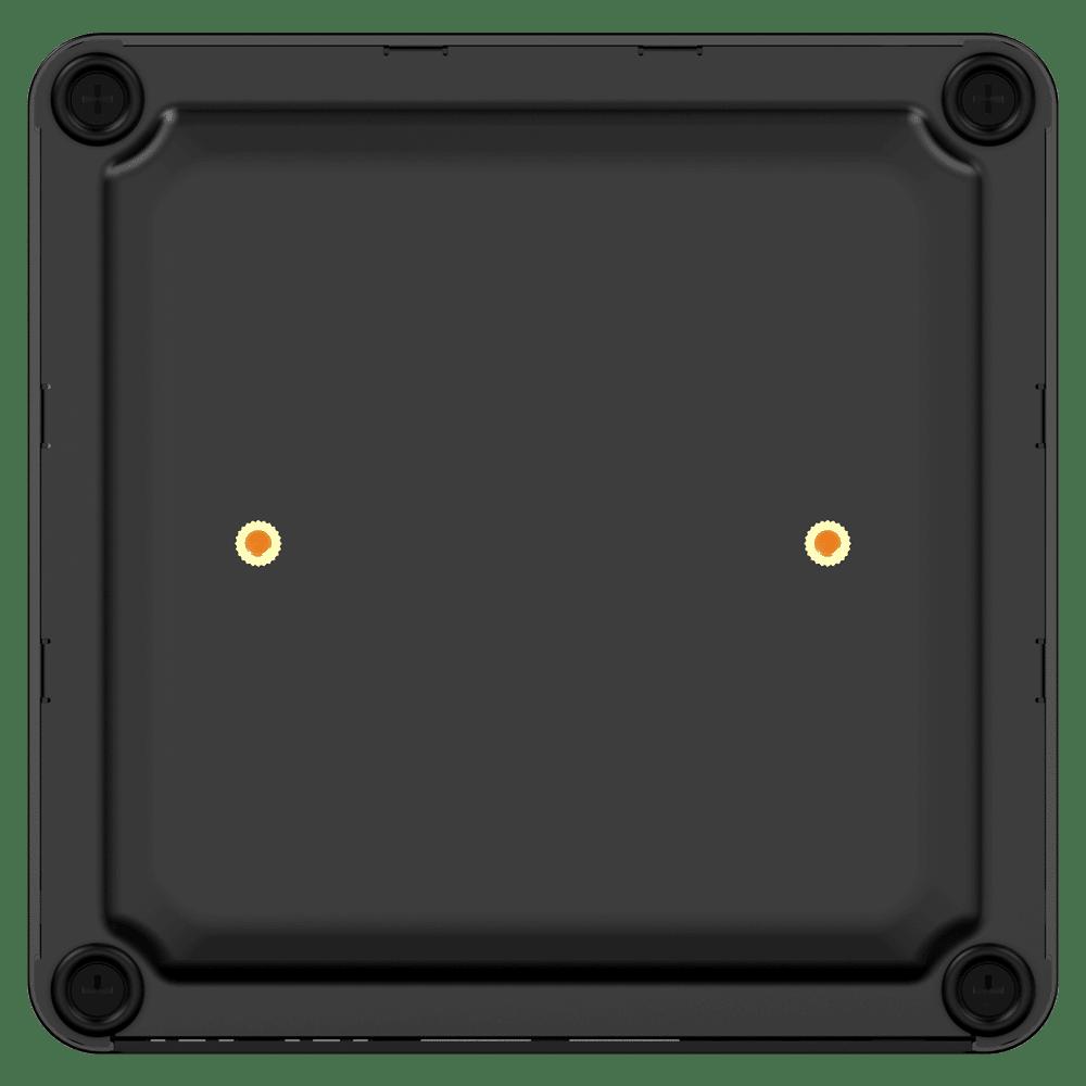 MinisForum EliteMini X400 Ryzen 3 PRO Mini Computer - Showing bottom