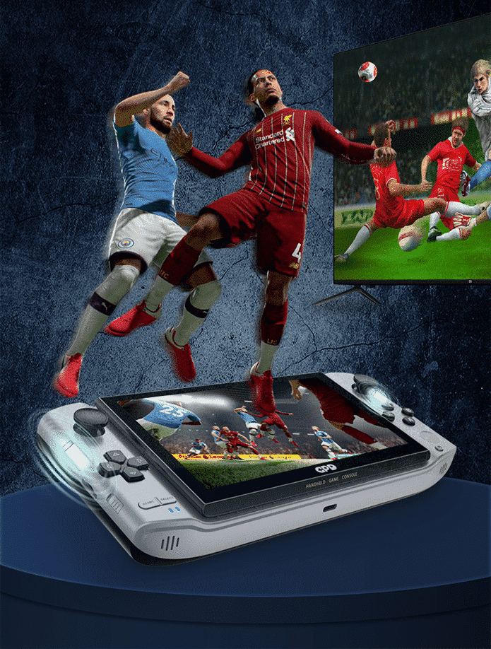 GPD WIN 3 - Showing Fifa game