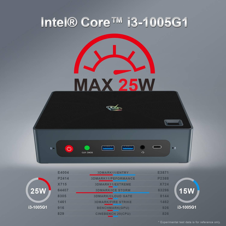 Beelink GTi 10 Windows Intel NUC Mini PC - Showing Max TDP