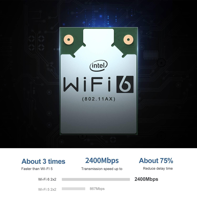 Beelink SEi 10 i3 Mini PC showing wifi speeds