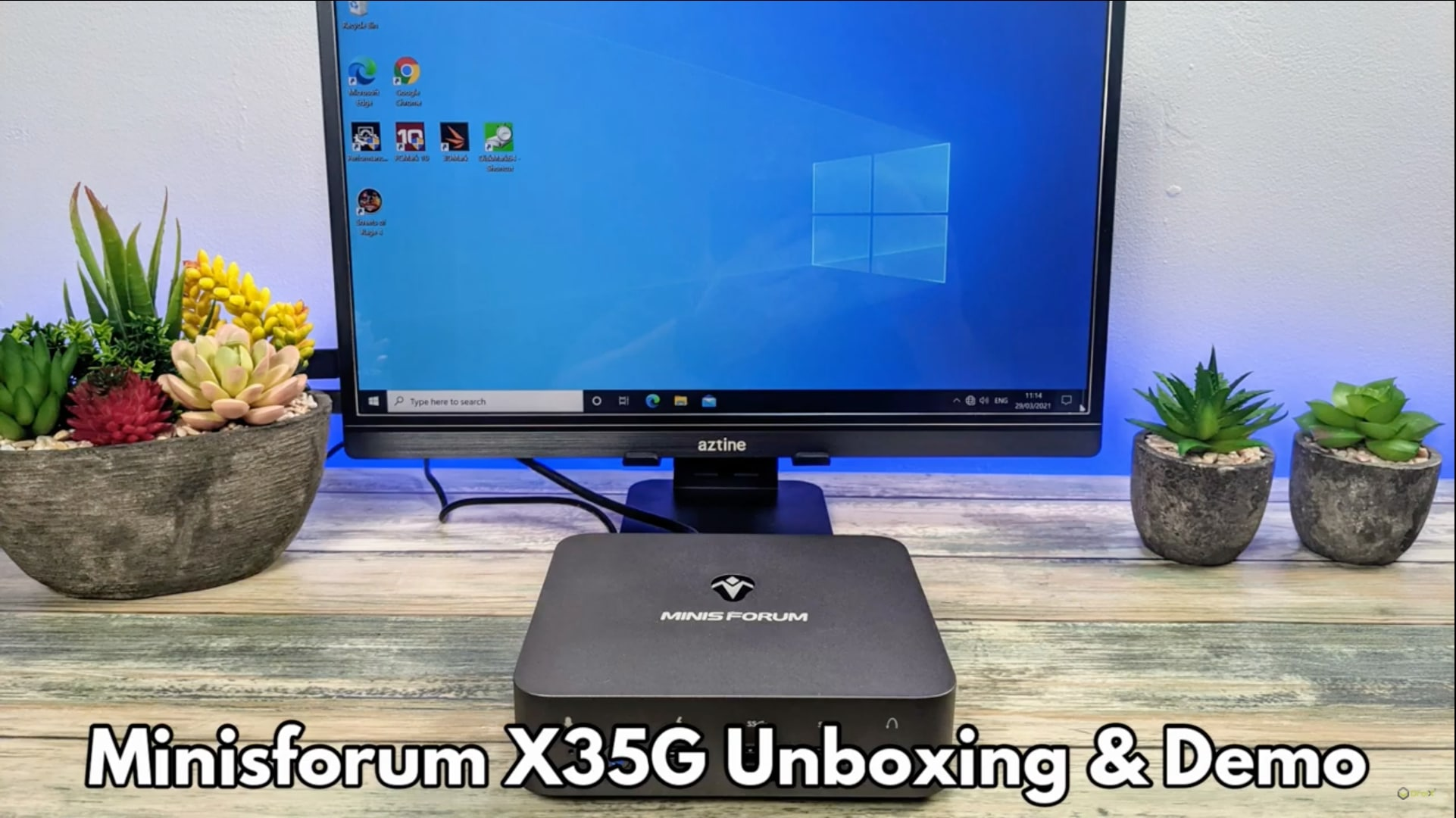 MinisForum X35G Unboxing And Demo