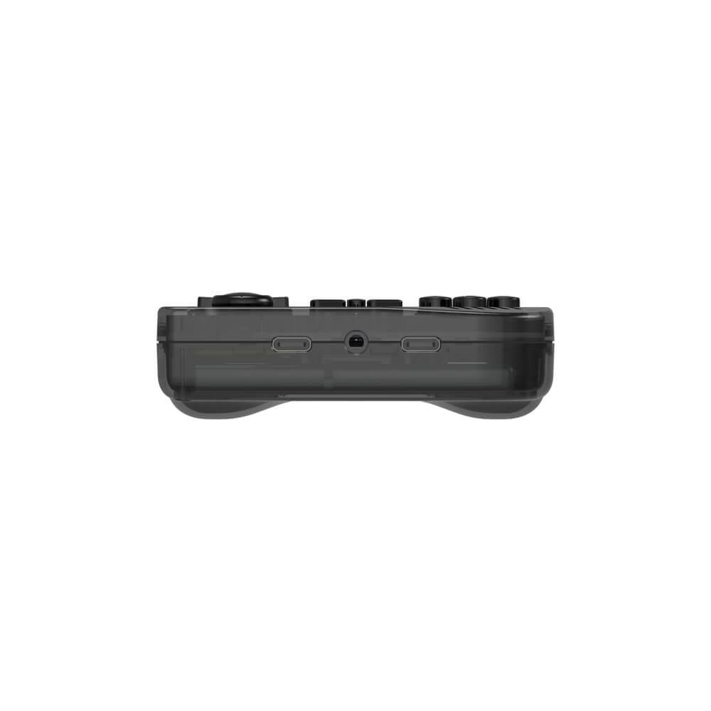 ANBERNIC Black RG351V Retro Gaming Handheld - Shown from the bottom