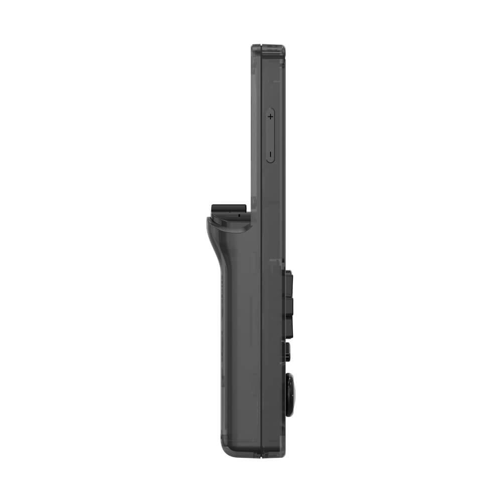 ANBERNIC Black RG351V Retro Gaming Handheld - Shown from left side