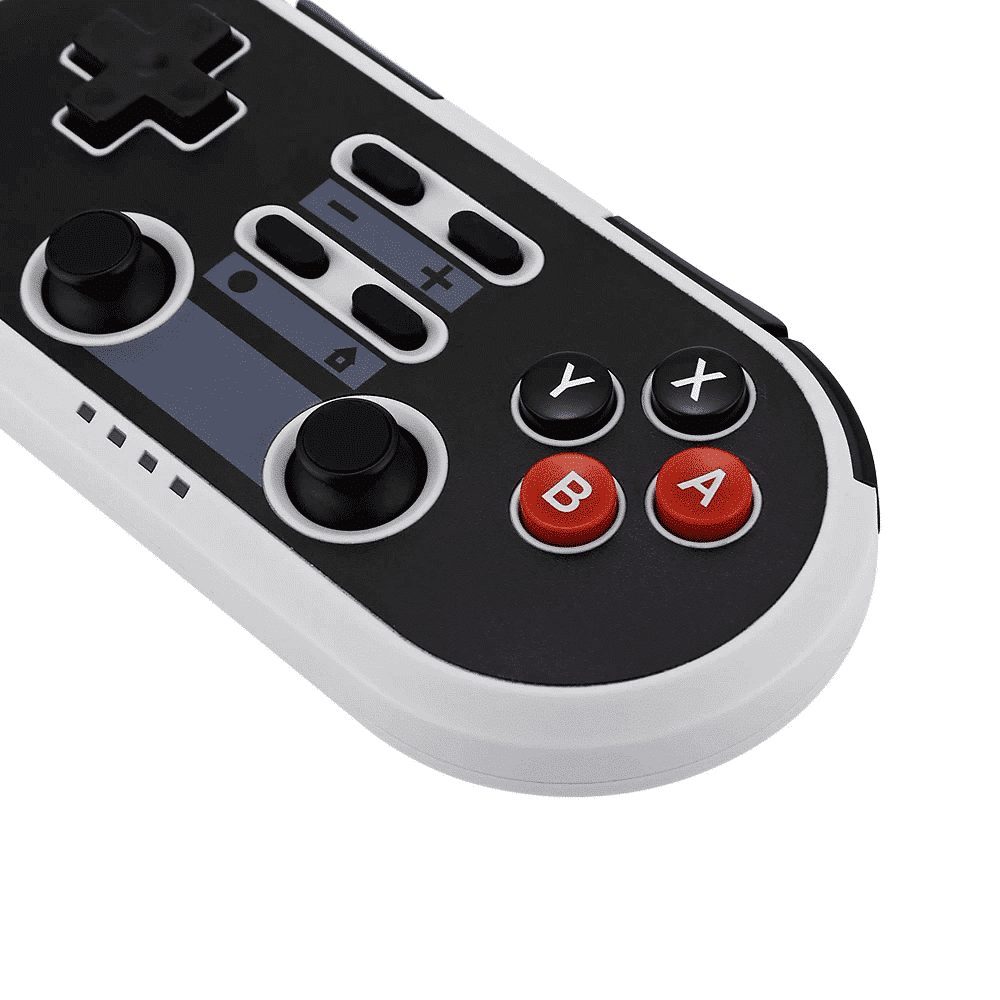 NS02 Gaming Controller shown from the top