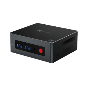 Beelink GK Mini Intel NUC Windows PC - Shown from the front at an angle