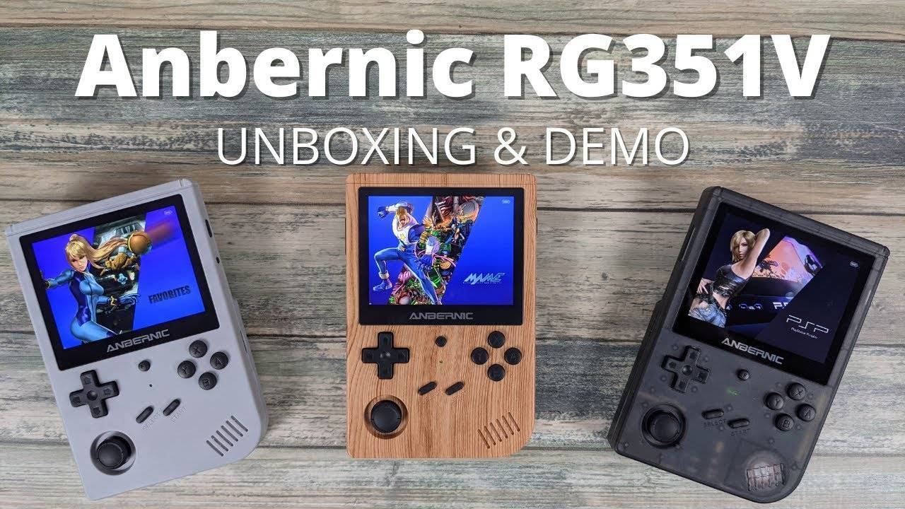 RG351V Unboxing Review