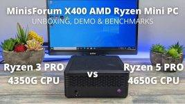 MinisForum X400 Review