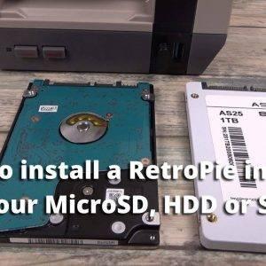 How to install a RetroPie Image