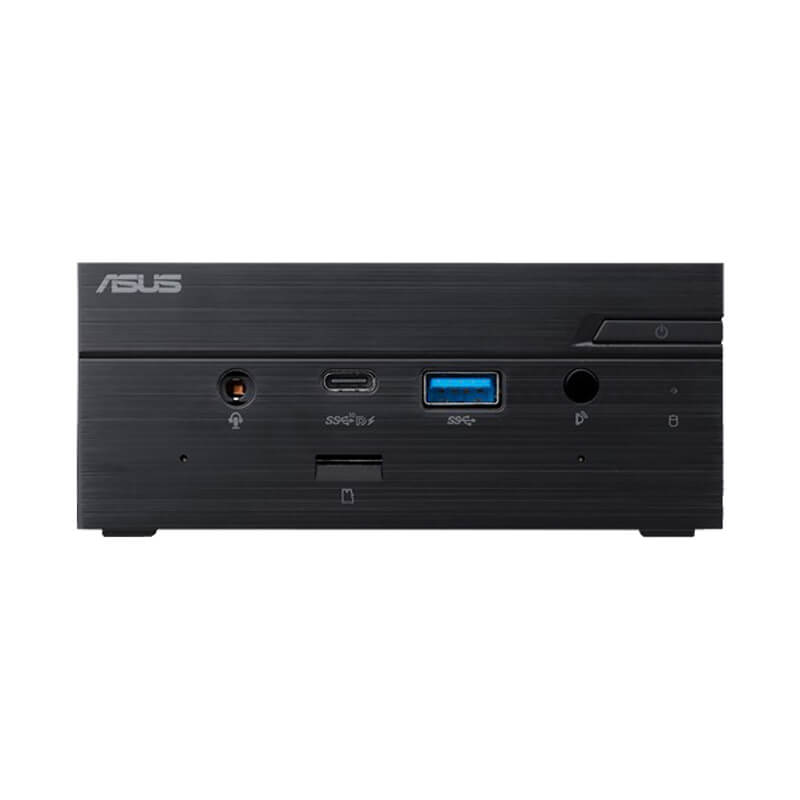 ASUS PN50 AMD Ryzen Mini PC - Shown from the front straight