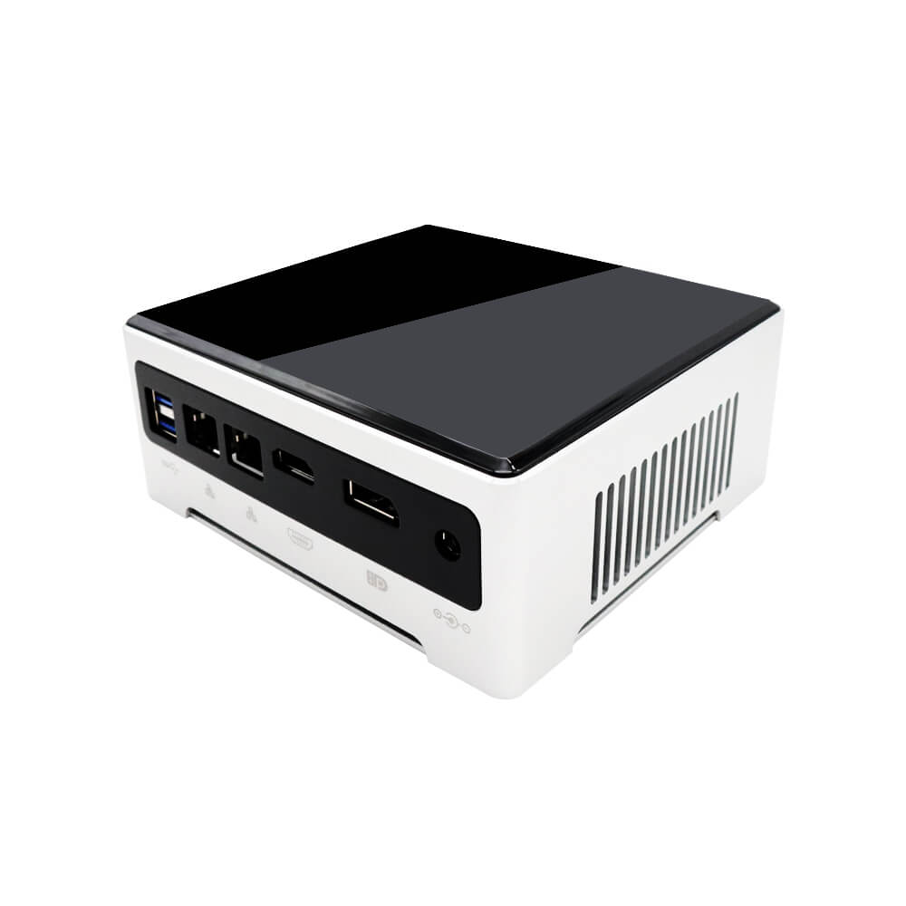 DroiX PROTEUS G4 Intel NUC Mini PC shown from the rear