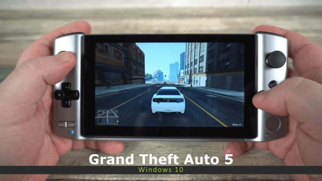 GPD Win 3 Grand Theft Auto 5