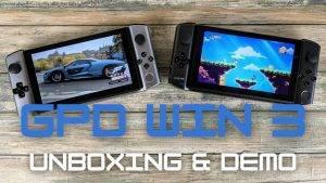 GPD Win 3 Video Review Thumbnail