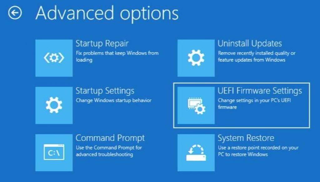 GPD Win 3 Startup Options Step 3