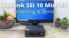 Beelink SEi 10 Video Review