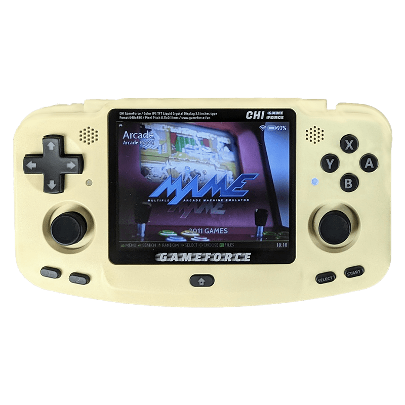 GameForce Chi Desert Tan Colour - Shown from the front