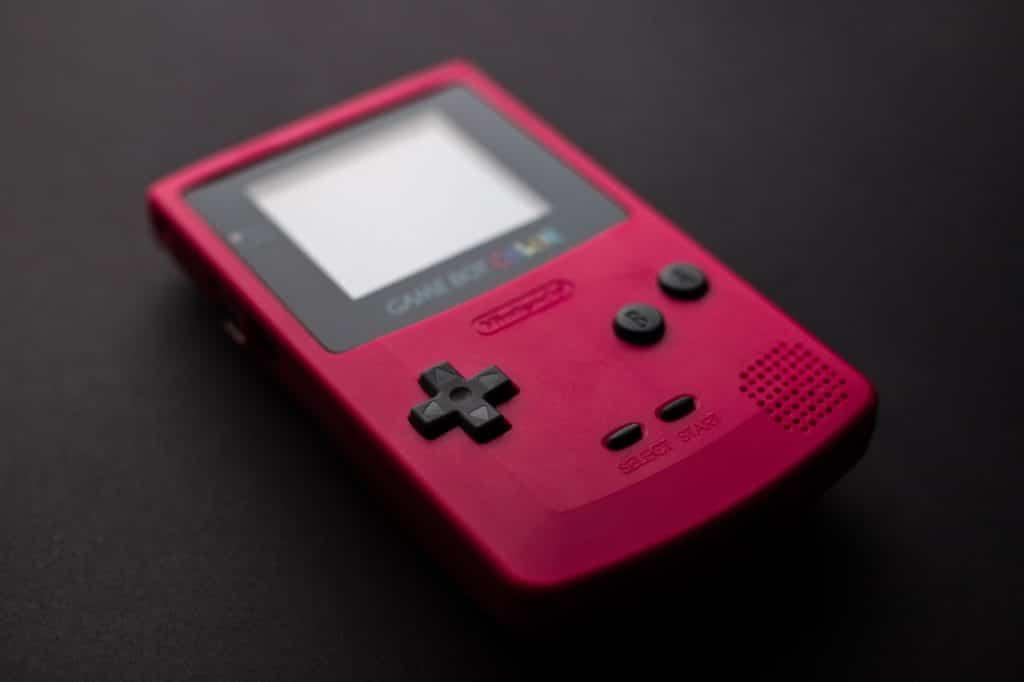 game boy handheld gaming console
