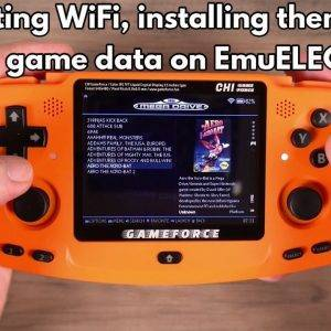 Connect to WiFi on EmuELEC