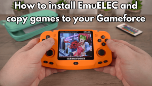Install EmuELEC on Gameforce