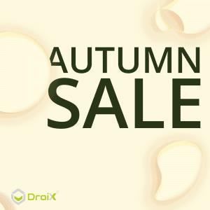 DroiX Autumn Sale Banner