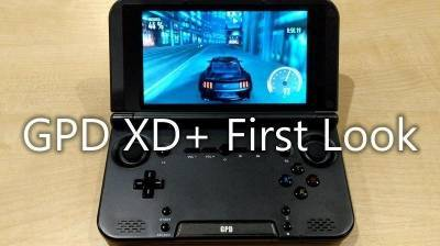 GPD XD+ First Look Video