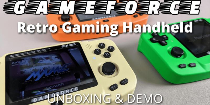 Gameforce Review – A 2021 Retro Gaming Handheld