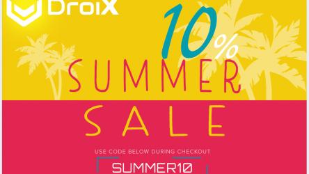 DroiX Summer Sale 2019