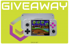 Win a DroiX RG350 retro gaming handheld